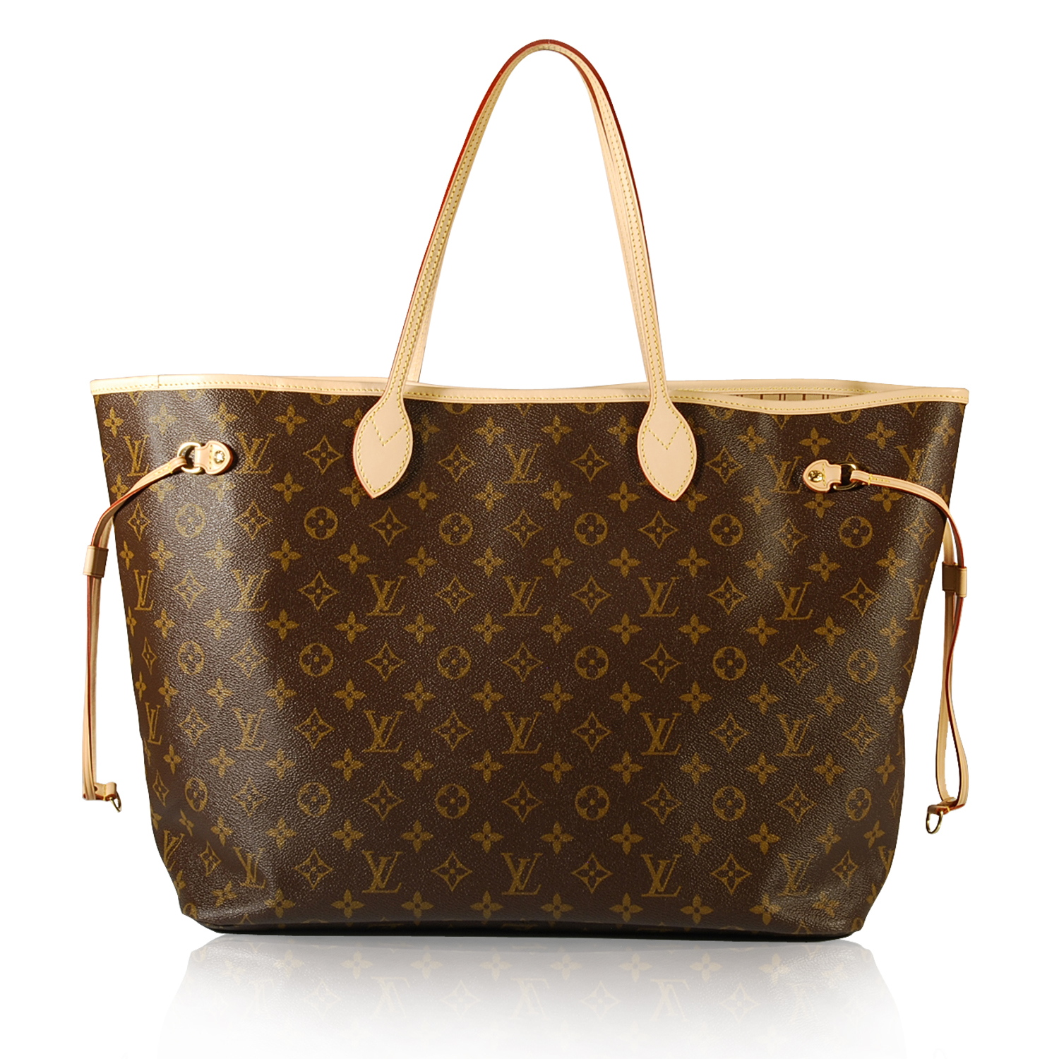 louis vuitton neverfull tote shopping online marketing. Black Bedroom Furniture Sets. Home Design Ideas